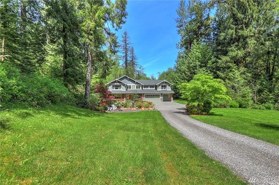 North Bend WA Single Family Home For Sale: $1,025,000