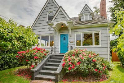 Seattle Single Family Home For Sale: 3211 NW 68th St