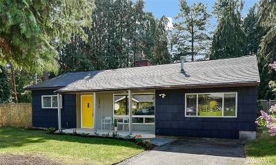 Shoreline Single Family Home For Sale: 16819 Palatine Ave N