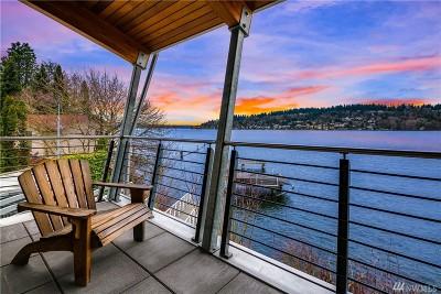 Renton Single Family Home For Sale: 3905 Lake Washington Blvd N