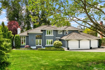 Kirkland Single Family Home For Sale: 11731 NE 48th Place