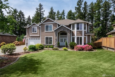 Gig Harbor Single Family Home For Sale: 11420 66th Ave NW