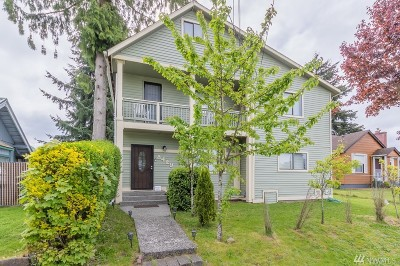 Tacoma Single Family Home For Sale: 8429 S G St