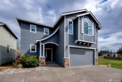 Lynnwood Single Family Home For Sale: 1406 180th St SW