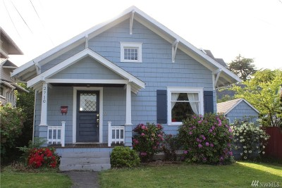 Tacoma Single Family Home For Sale: 2710 N Warner St