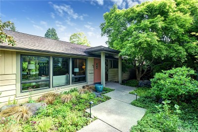 Mercer Island Single Family Home For Sale: 8860 SE 39th St