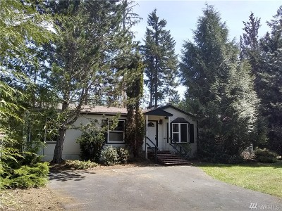 Shelton WA Single Family Home For Sale: $212,000