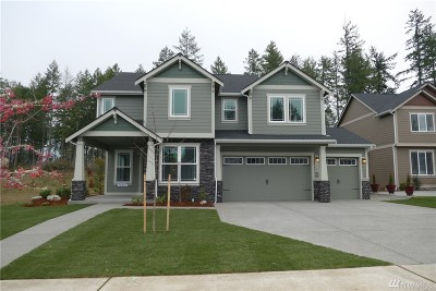 Lacey Single Family Home Pending: 4322 Bogey Dr NE #Lot48