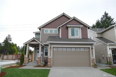 Tumwater Single Family Home For Sale: 6330 Courtyard Lane SW #Lot63