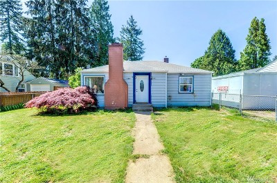 Shoreline Single Family Home For Sale: 15557 6th Ave NE