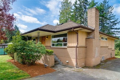 Shoreline Single Family Home For Sale: 14525 8th Ave NE