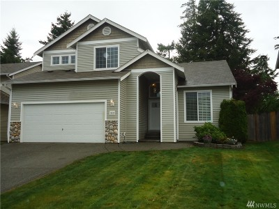 Spanaway Single Family Home For Sale: 19624 84th Ave E