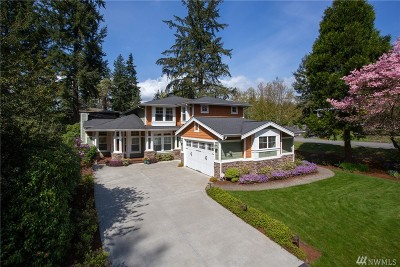 Kirkland Single Family Home For Sale: 10925 104th Ave NE