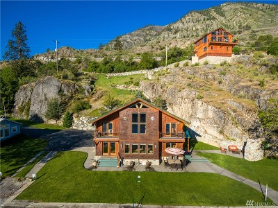 Chelan County, Douglas County Single Family Home For Sale: 16048 S Lakeshore Rd