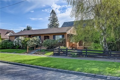 Whatcom County Single Family Home Pending: 2116 W North St