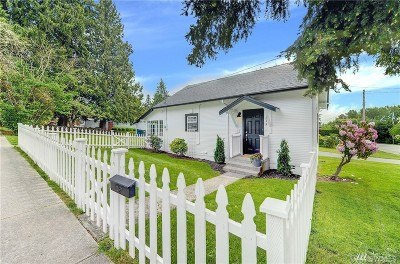 Snohomish Single Family Home For Sale: 1815 4th St