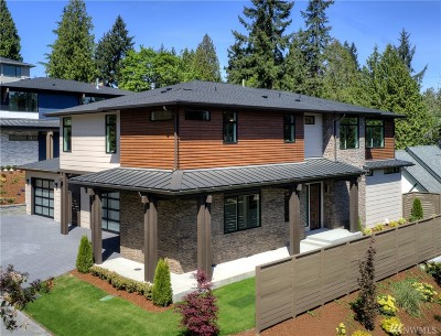 Bellevue Single Family Home For Sale: 11276 SE 32nd Lane