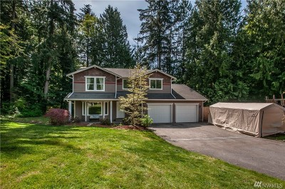 Stanwood Single Family Home For Sale: 13807 76th Ave NW
