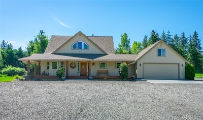 Yelm Single Family Home Contingent: 14925 Martinson Rd SE