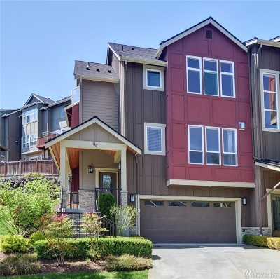 Sammamish Condo/Townhouse For Sale: 900 228th Ave NE #6 C