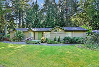 Port Ludlow Single Family Home Pending BU Requested: 3072 Teal Lake Rd