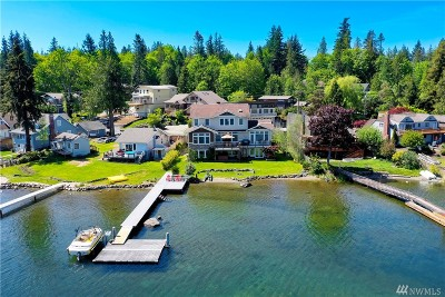 Bellingham Single Family Home For Sale: 1838 Lakeside Ave