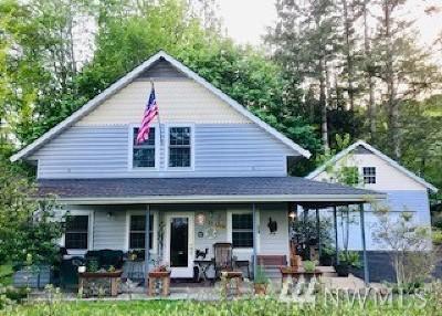 Mason County Single Family Home Pending Inspection: 51 Spar Tree Dr