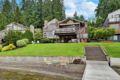 King County Single Family Home For Sale: 2816 W Lake Sammamish Pkwy SE