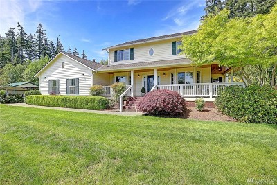 Camano Island Single Family Home For Sale: 213 N Sunrise Blvd