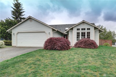 Lacey Single Family Home Pending Inspection: 6127 Thornbury Ct SE