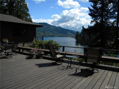 Whatcom County Single Family Home Contingent: 679 N Lake Samish Dr