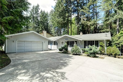 Pierce County Single Family Home For Sale: 14711 Aqua Dr NW