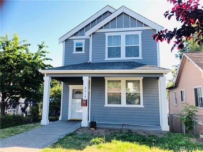 Seattle Single Family Home For Sale: 8419 Wabash Ave S