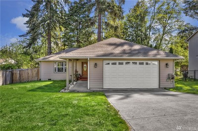 Port Orchard Single Family Home Pending Inspection: 260 Fox Glove Ct