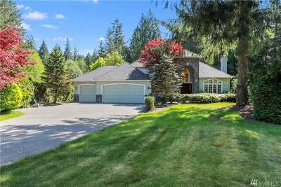 Woodinville Single Family Home For Sale: 22232 NE 192nd St