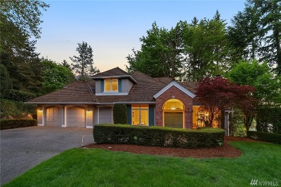 Sammamish Single Family Home For Sale: 19217 SE 25th St