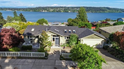 Lake Forest Park Single Family Home For Sale: 16226 39th Ave NE