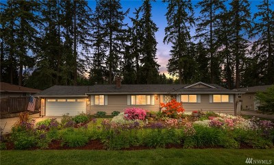 Bothell Single Family Home For Sale: 9525 NE 200th St