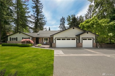 Woodinville Single Family Home For Sale: 20823 NE 150th St