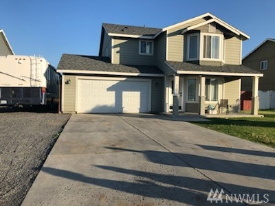 Moses Lake WA Single Family Home For Sale: $255,000