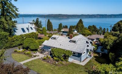 Tacoma Single Family Home For Sale: 6523 Dash Point Blvd NE