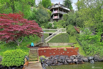 Mercer Island Single Family Home For Sale: 8029 W Mercer Wy