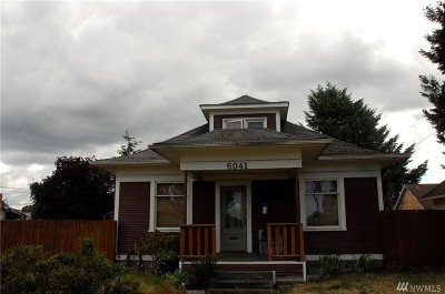 Single Family Home For Sale: 6041 S Warner St
