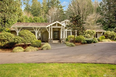 Sammamish Single Family Home For Sale: 4830 240th Place SE