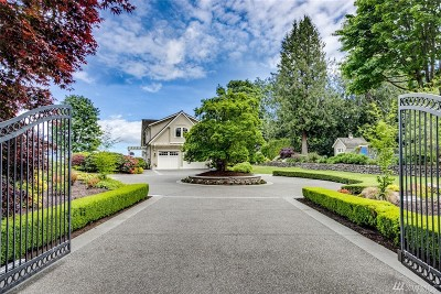 Bainbridge Island Single Family Home Pending Inspection: 15650 Euclid Ave NE