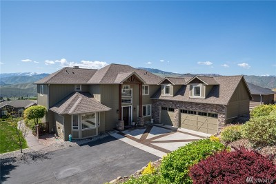 Wenatchee Single Family Home For Sale: 930 Sage Crest Dr
