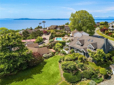 Seattle Single Family Home For Sale: 1516 Magnolia Blvd W