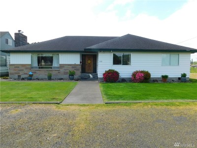 Grays Harbor County Single Family Home For Sale: 203 E Marion