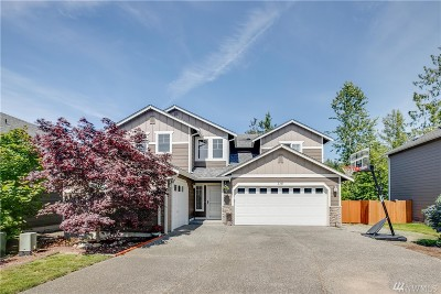 Mount Vernon Single Family Home Contingent: 316 Barry Lp