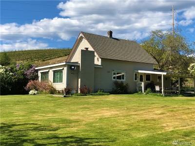 Douglas County, Chelan County Single Family Home For Sale: 30 Chapman Rd